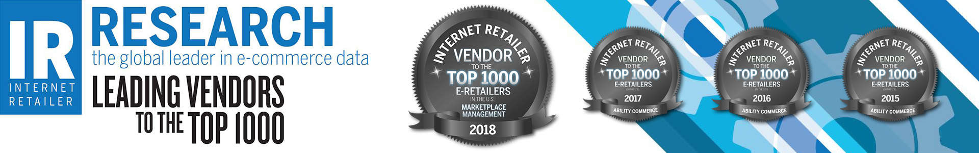 Internet Retailer Leading Vendor
