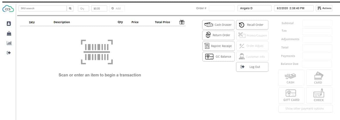 Ability Point Of Sale Screenshot 1